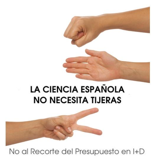 La ciencia en España no necesita TIJERAS