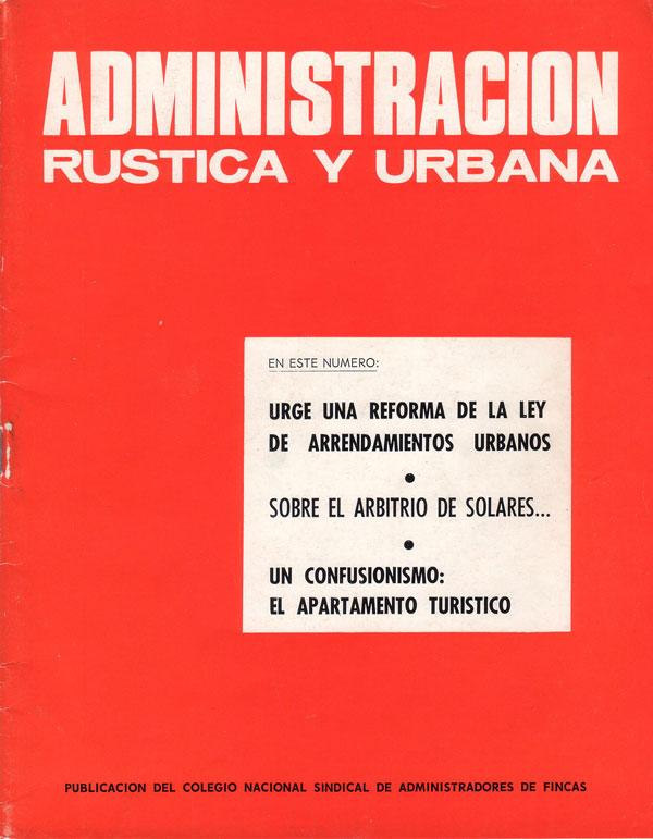 001 revista administraci n r stica y urbana elementos comunes - Colegio de administradores de fincas barcelona ...